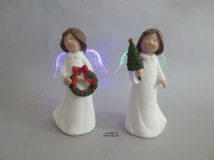 Craft Angel Xmas Figurine Home Ornament pictures & photos