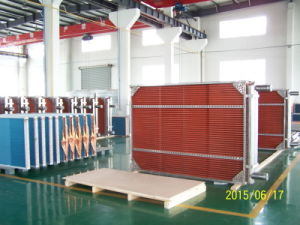 Copper Tube Copper Fin Heat Exchanger for Industrial Air Conditioning Unit pictures & photos