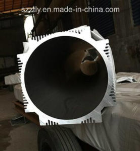 Customized Big Section Diameter Aluminum Extruded Round Tube pictures & photos