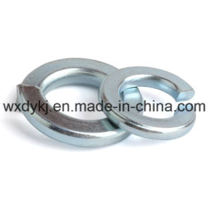DIN127 Blue White Z/P Carbon Spring Steel Washer pictures & photos