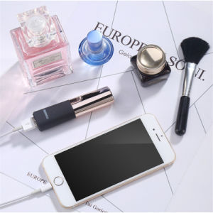 2600 mAh Lipstick Shape Portable Power Bank for Mobile Phone Accessories pictures & photos