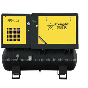 15kw/20HP Combined with Dryer and Tank Integrated Rotary Air Compressor pictures & photos