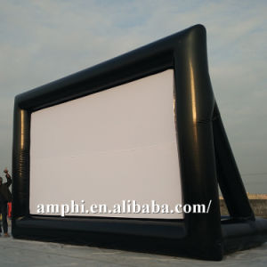 OEM Advertising Outdoor Backyard Inflatable Movie Screen pictures & photos
