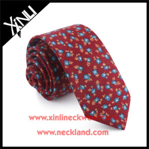 Cotton Printed Mens Fashion Neck Tie Floral pictures & photos