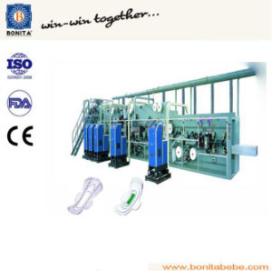 Specialized Frequency Sanitary Napkin Making Machine pictures & photos