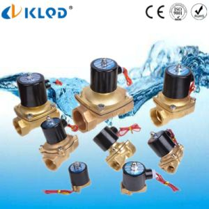 Made in China Direct Acting Brass 110V 220V 12V 24V Air Water Solenoid Valve pictures & photos