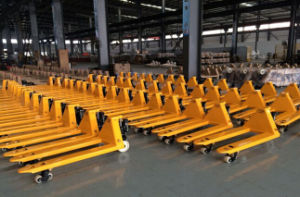 Hot Sale Cbym 2ton Hand Pallet Truck (welded pump) pictures & photos