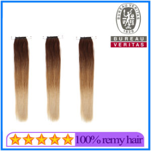 Factory Price Gradient Color Human Hair Extension pictures & photos