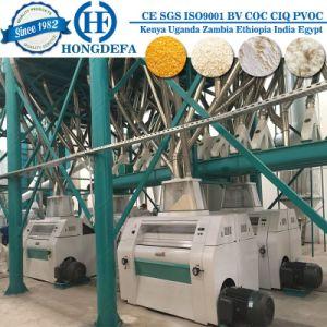 Super Fine Machine of 100t/24h Maize Flour Milling Machine pictures & photos