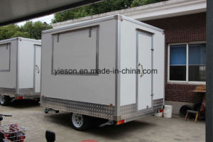 Yieson Quality Ice Cream Trailer Cart pictures & photos