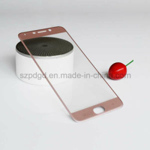 3D 9h Curved Edge Tempered Glass Screen Protector Film for Oppo R9 Toughened Glass Guard pictures & photos
