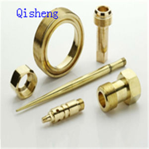 CNC Lathing Parts, Turning, Al, Copper pictures & photos