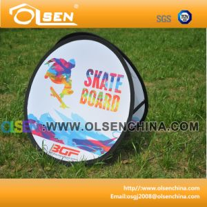 Outdoor Round Pop up a Frame Banner for Advertising pictures & photos