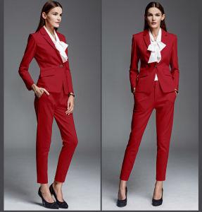 Slim Fit One Button Ladies Fashion Design Leisure Suits-16338