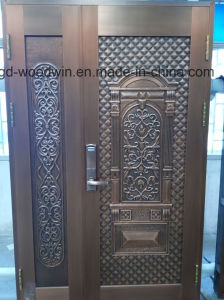 Woodwin High Quality Handwork Pure Copper Door Security Door pictures & photos