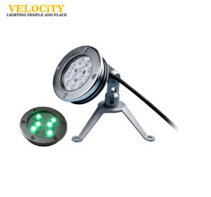 High Power 15PCS Hot Sale Resin Enclosed IP68 RGB Underwater Light for Swimming Pool pictures & photos
