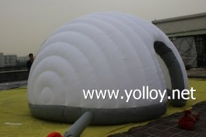 Outdoor Mobile Inflatable Lounge Office Inflatable Exhibition Tent pictures & photos