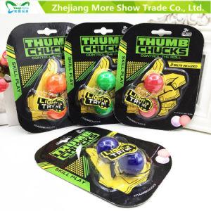 Hot Thumb Chucks Fidget Yoyo Luminous Begleri Glow in Dark Finger Toys pictures & photos