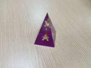 Customize Clear Office Decoration Resin Diamond pictures & photos