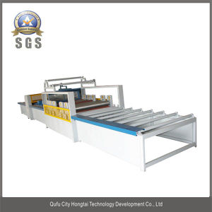 Hongtai Semi-Automatic Veneer Machine pictures & photos