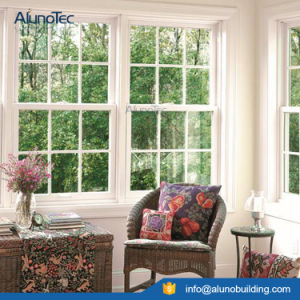 European Style Aluminum Vertical Sliding Window pictures & photos