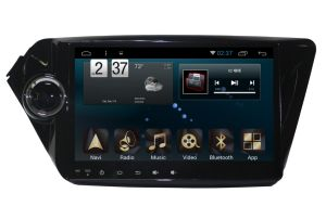 Android System Car GPS Player for KIA K2 2012 New Ui with 9inch Car Navigation pictures & photos