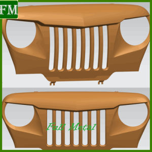 for Jeep Wrangler Specter Grill Angry Grill Aggressive Grille pictures & photos