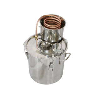18L/5gal Home Brew Stainless Pot Still Column Alcohol Moonshine Distiller pictures & photos