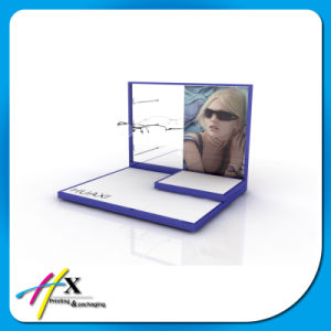 Personalized Wooden Sunglass Advertising Display Rack pictures & photos