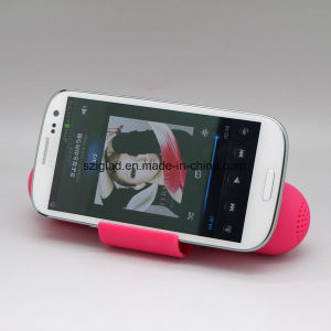Radiationless! Wireless Induction Touch Pill Shape Mobile Sensor Speaker pictures & photos