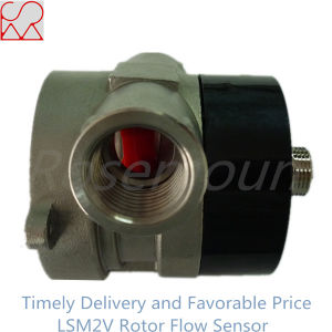 Pulse Signal Output Micro Sight Flow Transmitter and Visual Paddle Wheel Flow Sensor pictures & photos