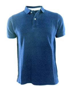 Men New Design Knitting Denim Fashion Polo Shirts Top Clothing (EE17051) pictures & photos