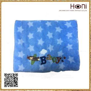 D-035 Coral Fleece Cartoon Blanket Baby pictures & photos