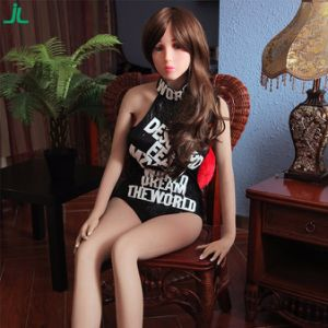 Jl158-A6 158cm TPE Silicone High Quality Samll Breast Real Sex Doll Price pictures & photos