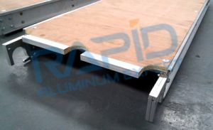 7 FT Plywood Decked Aluminum Plank pictures & photos