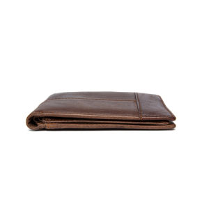 Luxury Genuine Cowhide Bifold Trifold Men′s Wallet pictures & photos