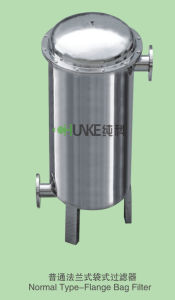 Industrial Liquid PE Bag Filter Water Filtration Housing Equipment pictures & photos