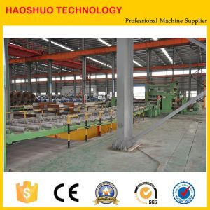 Cut to Length Line and Slitting Used to Straighten The Steel Coil and Leveler Machinery pictures & photos