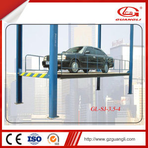 Guangli High Quality Hydraulic Garage Four Post Car Crane pictures & photos