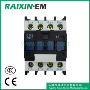 Raixin Cjx2-0910 AC Contactor 3p AC-3 380V 4kw pictures & photos