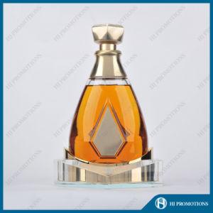 Ellipse Artificial Crystal Liquor Bottle Display (HJ-DWNL02) pictures & photos