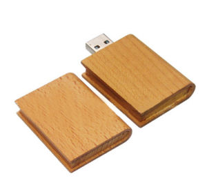 Wood Book Shape USB Memory Stick 4GB pictures & photos
