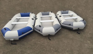 3m PVC Inflatable Fishing Boat and Inflatable Aluminum Floor Boat pictures & photos