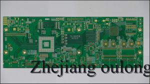 4 Layer Hal PCB with Green Solder Mask pictures & photos