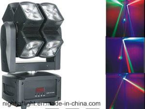 8PCS*10W LED Infinitely Rotating Beam Light pictures & photos