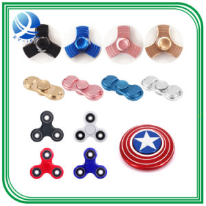 Cheap 608 Ball Bearing LED Hand Toy Finger Fidget Spinner pictures & photos
