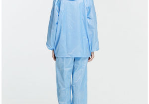with Good Quality Carbon Woven ESD Anti-Static Cleanroom Electronic Labcoat pictures & photos
