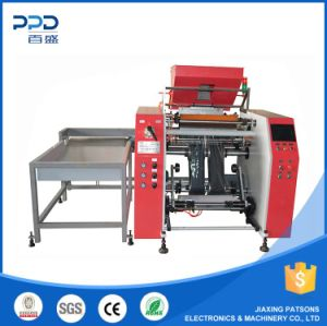 China Supplier Hi- Speed Fully Auto Stretch Film Rewinding Machinery pictures & photos