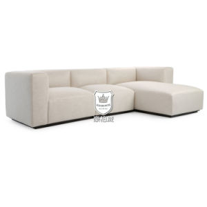Bespoke North European New L Shaped Sofa Designs pictures & photos
