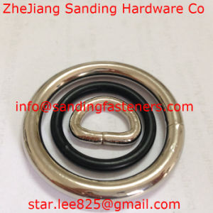 Stainless Steel 304 Nickel Plated Metal O-Rings/ Metal Welded O Ring pictures & photos